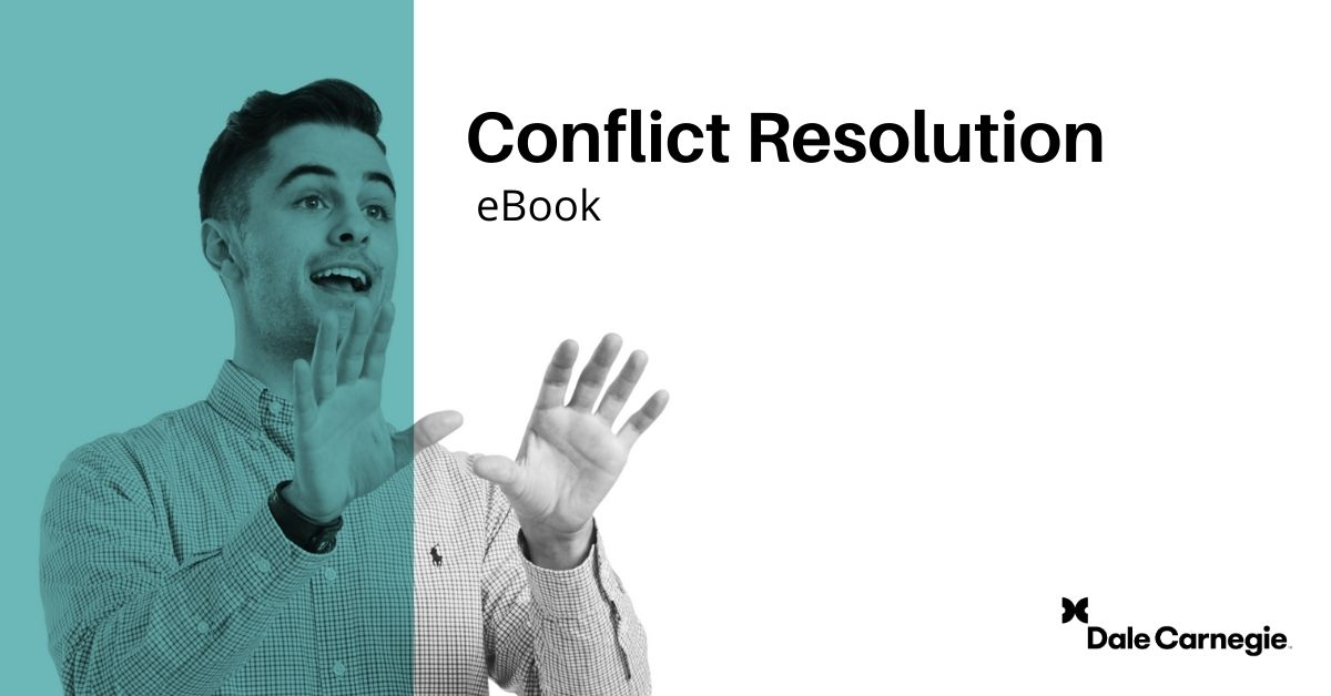 Learn how to resolve conflict